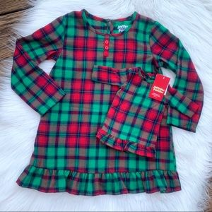 NWT Plaid Night Gown with Matching Doll Gown Set 4
